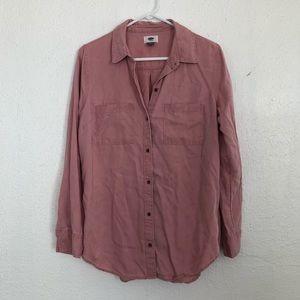 Tencell Button Down Shirt